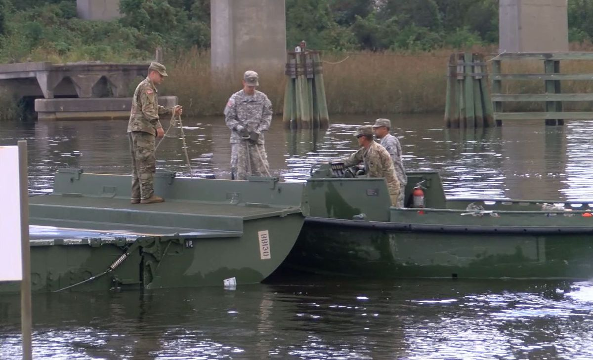 Volvo Of Charleston >> National Guard soldiers help with flood preparation efforts in Georgetown
