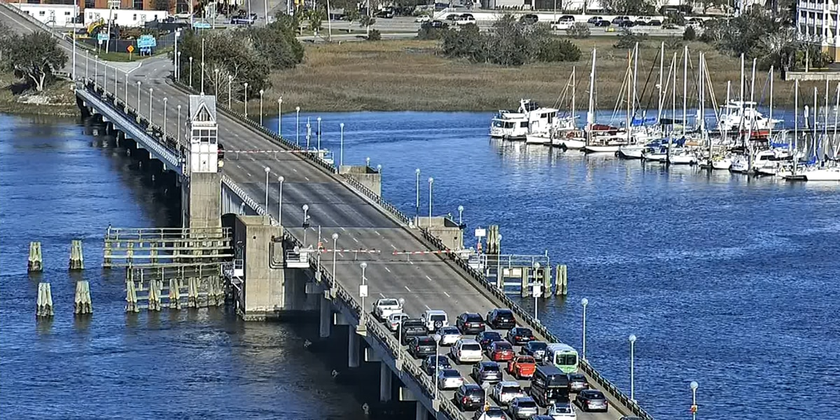 SCDOT: Ashley River Bridge malfunction due to relay switch going bad