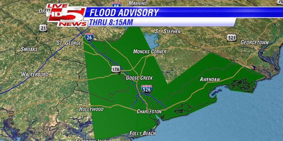 FIRST ALERT WEATHER: Flood Advisory issued as storms continue