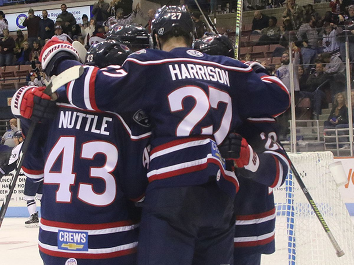 Stingrays Take Over ECHL Points Lead With 4-1 Win