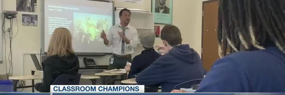 VIDEO: Classroom Champions: Teacher wants books for history students at Charleston Math and Science