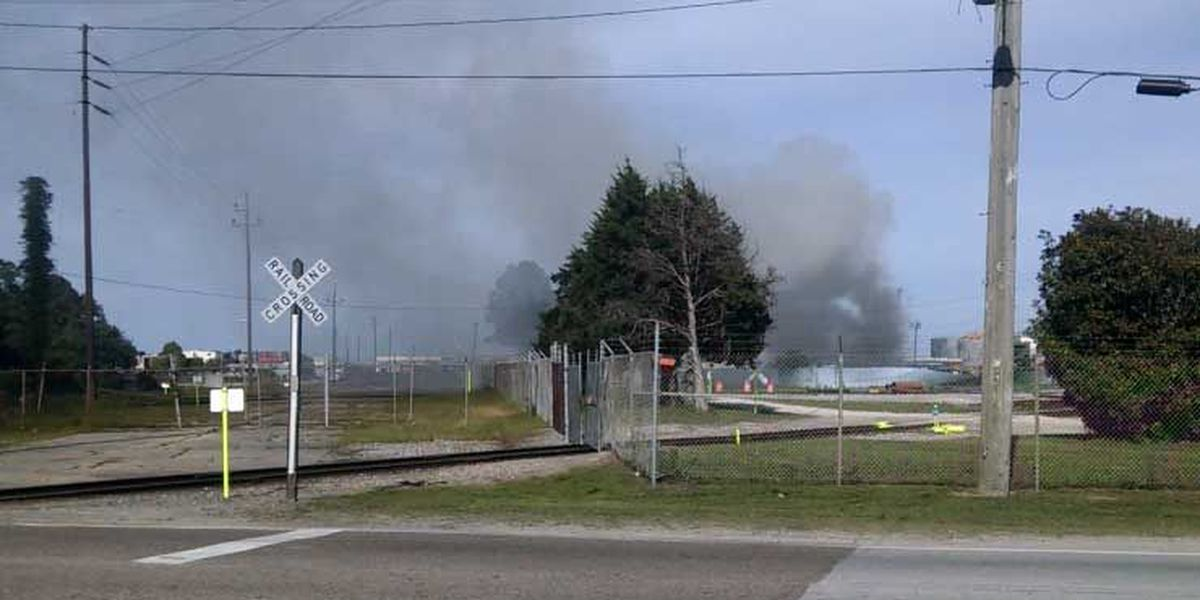 Emergency crews contain fire near Kapstone plant in N. Charleston