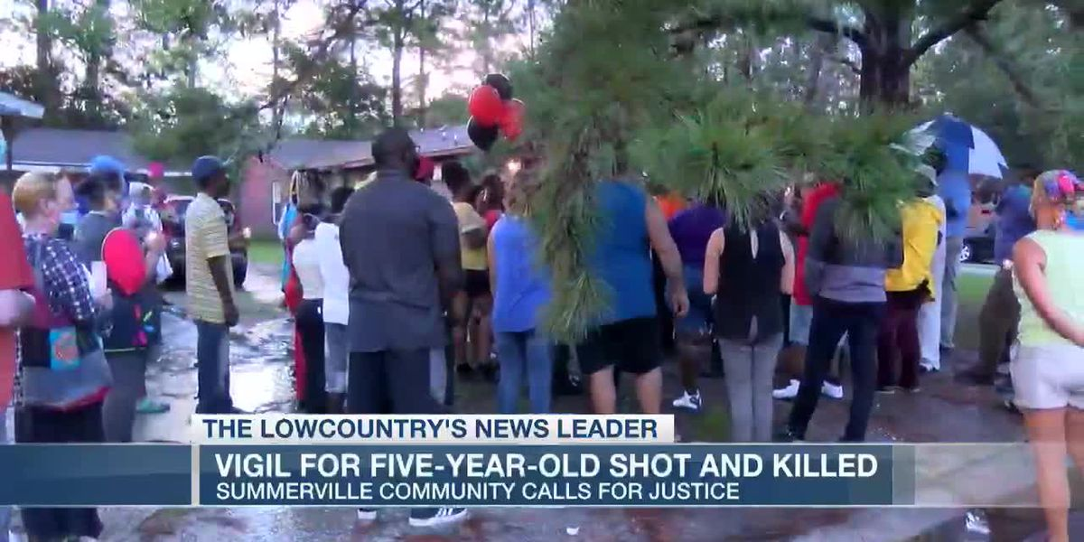 VIDEO: Vigil for five-year-old shot and killed