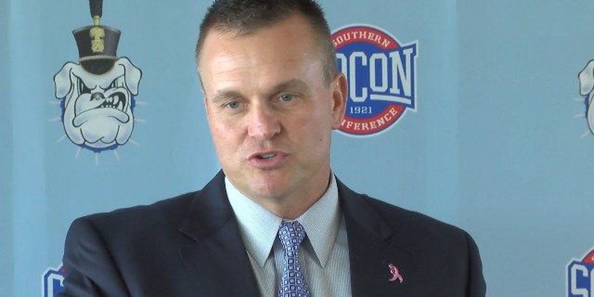 RAW: The Citadel's Mike Houston previews Samford