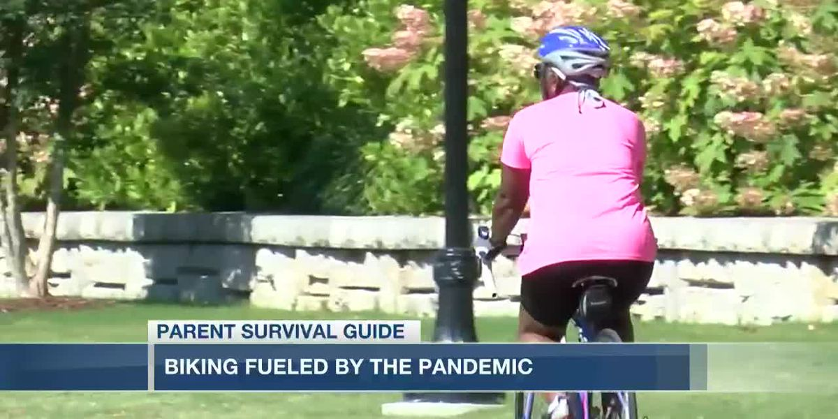 VIDEO: Parent Survival Guide: Biking as a family fueled by pandemic