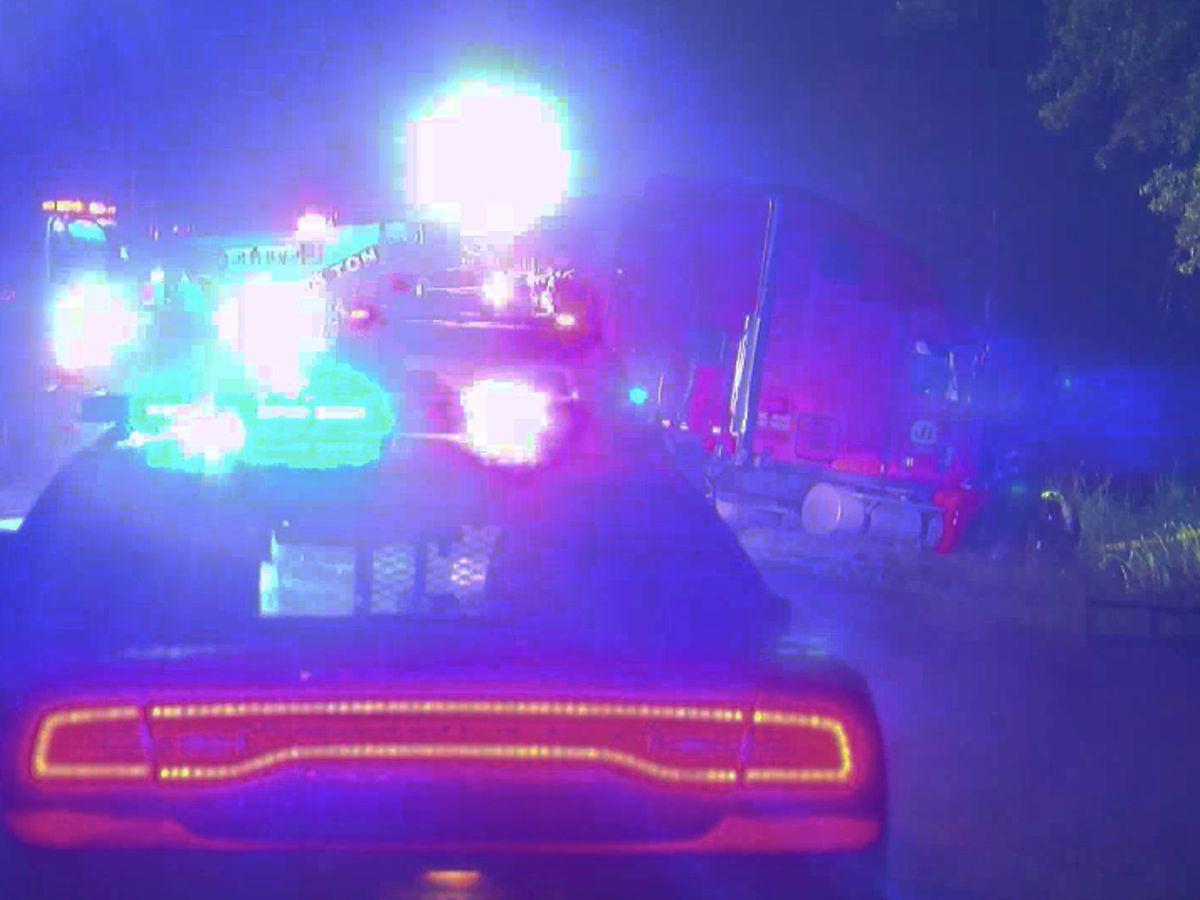 Coroner identifies two killed in crash involving 18-wheeler and SUV