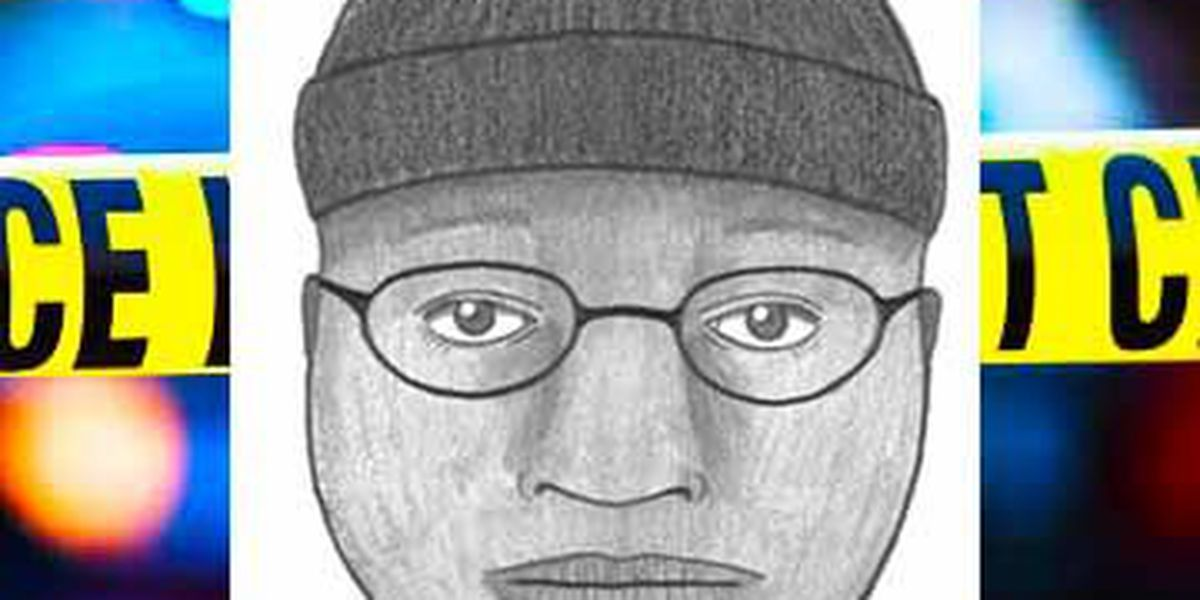 Charleston police releases sketch of man suspected of groping woman