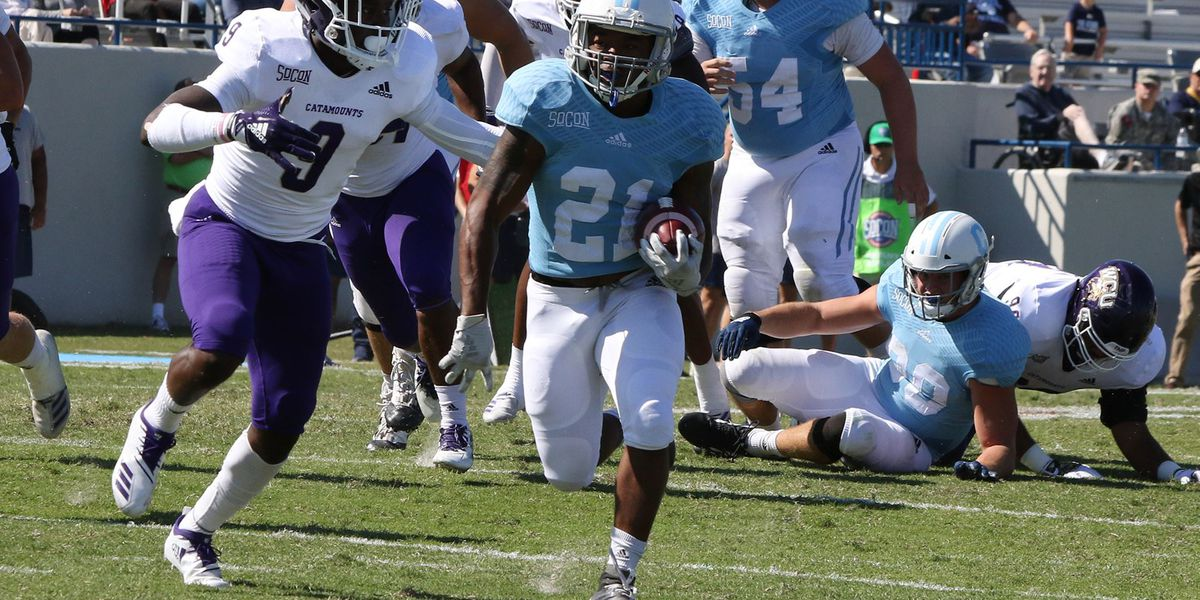 Rainey efficient in The Citadel's 35-17 win over W. Carolina