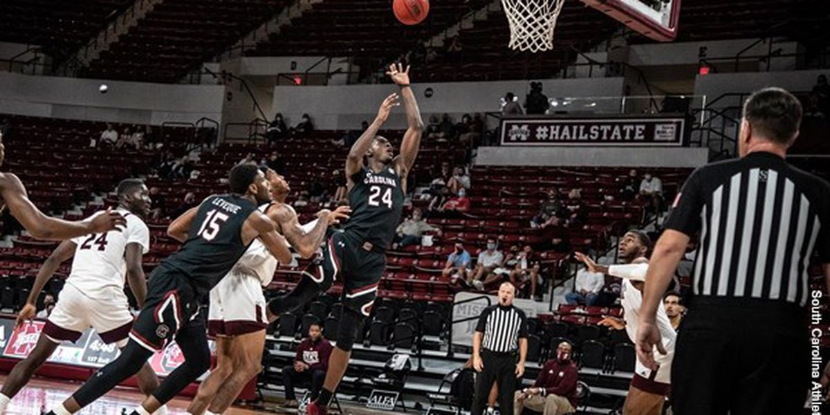 Mississippi St. jumps out early, beats South Carolina 69-48