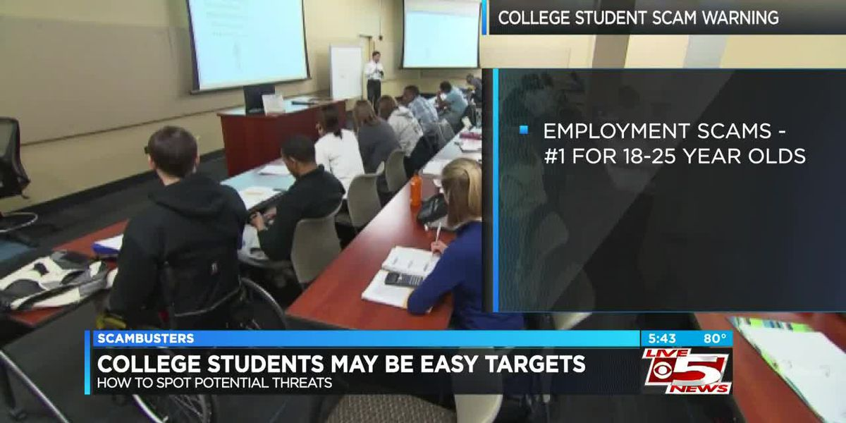 Live 5 Scambusters: Scam warning for college students as fall semester begins