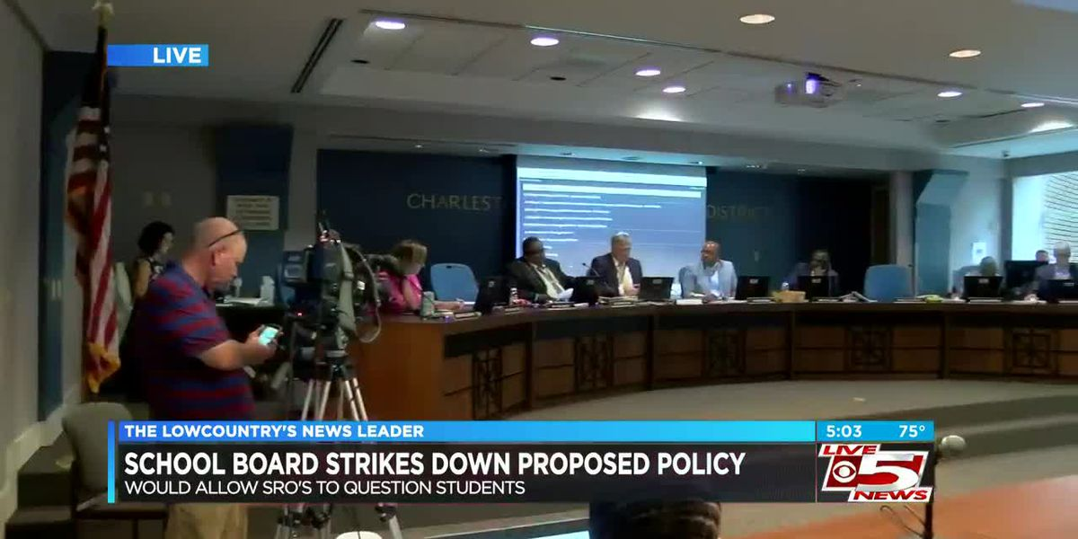 VIDEO: CCSD board strikes down proposed policy allowing resource officers to question students
