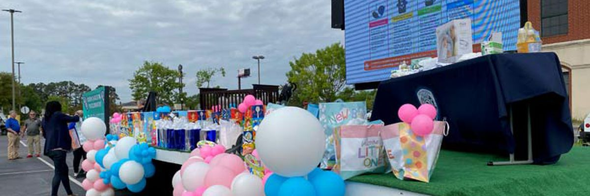 North Charleston Police host baby shower for new moms