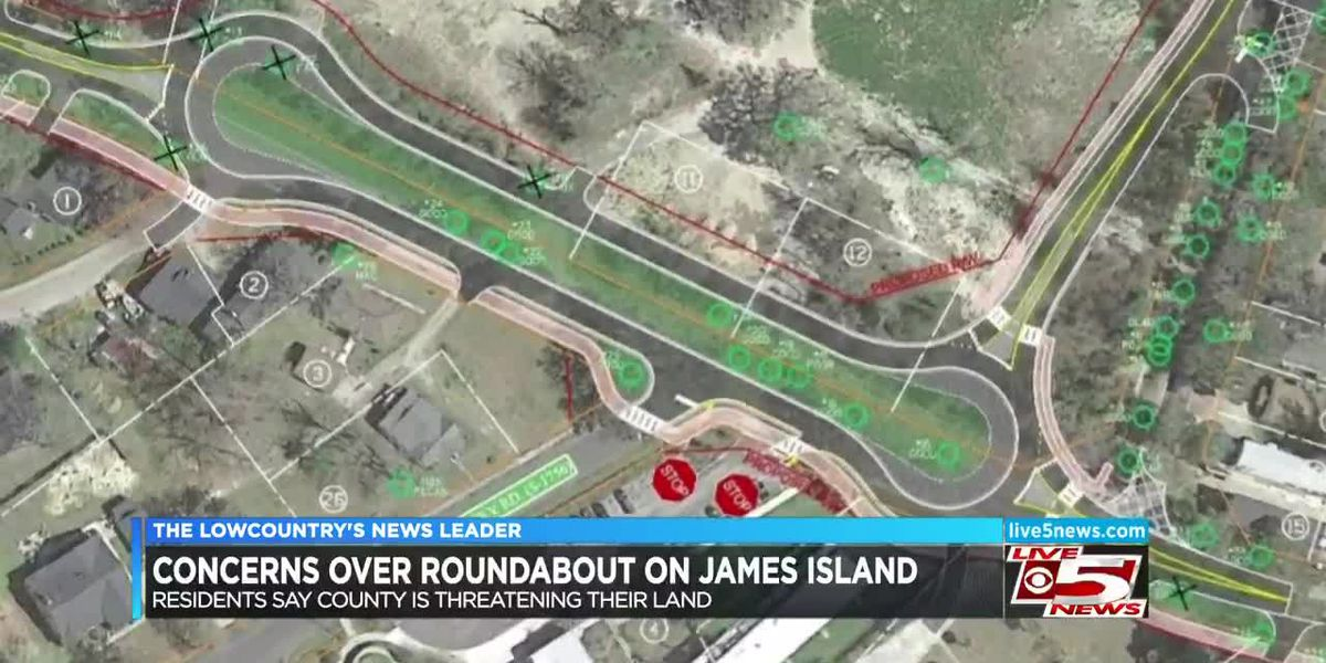VIDEO: Charleston County considering eminent domain to build roundabouts