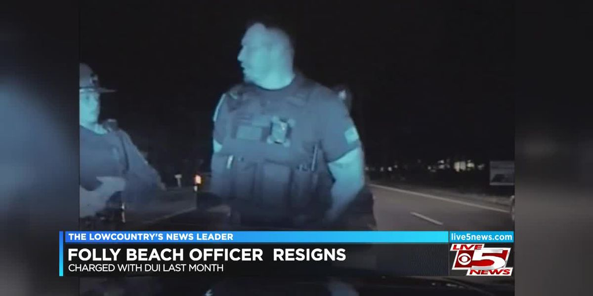 VIDEO: Folly Beach officer resigns from department