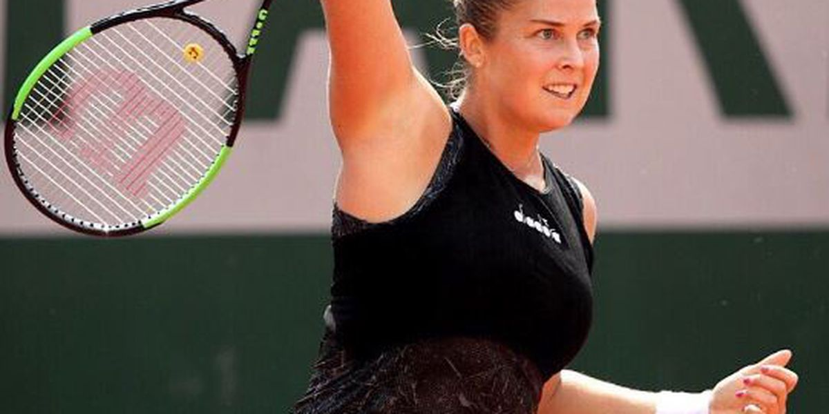 Shelby Rogers falls in French Open 2nd round
