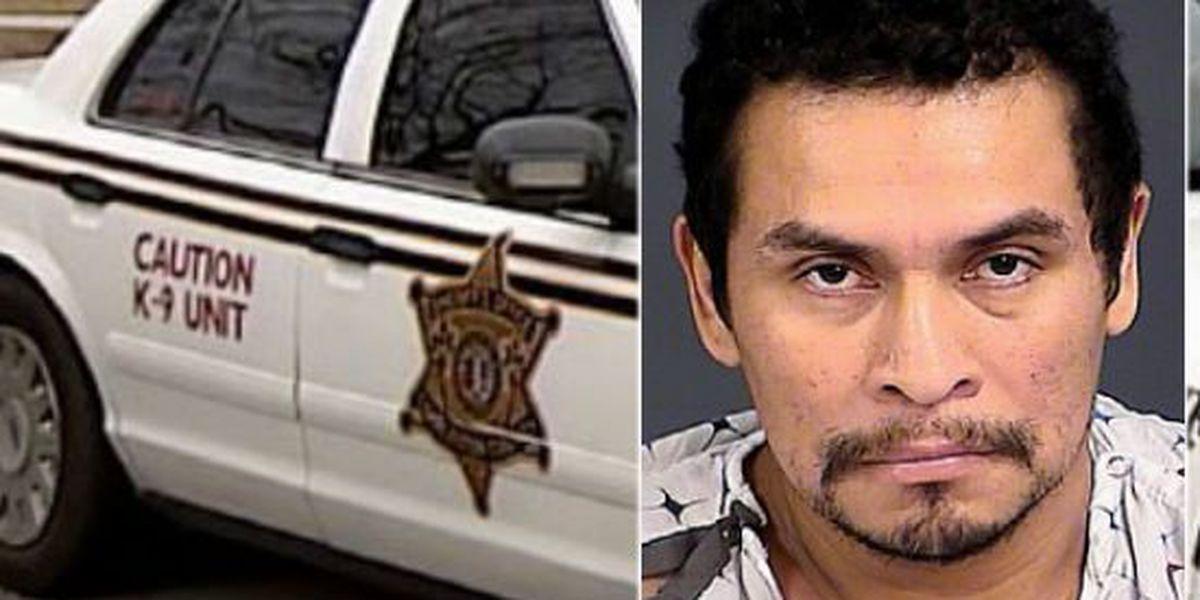 CCSO: Suspect shot in Adam's Run break-in arrested, charged