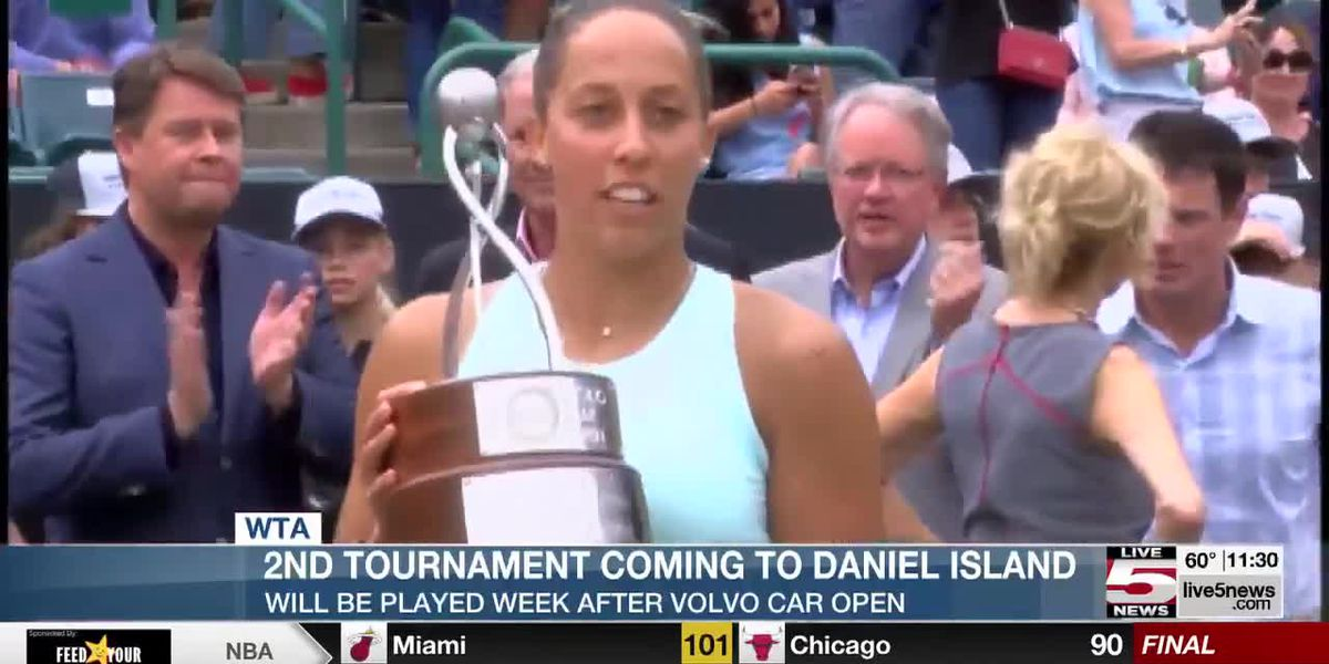VIDEO: WTA to hold 2nd tournament on Daniel Island in April