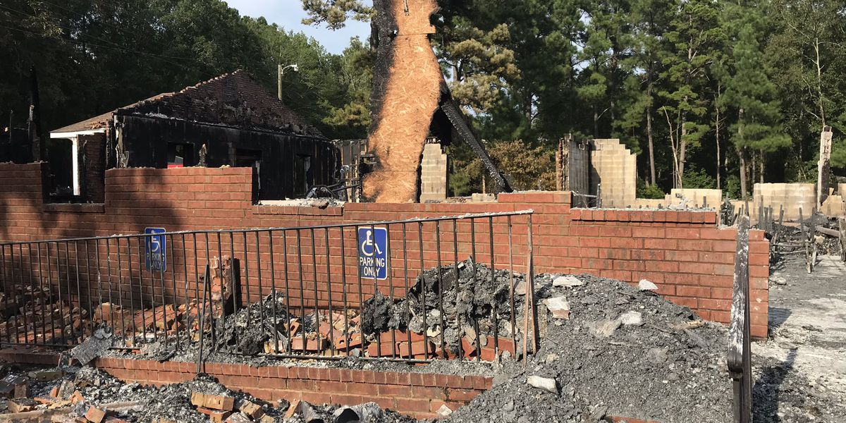 Huger community comes together after historic church is destroyed in flames