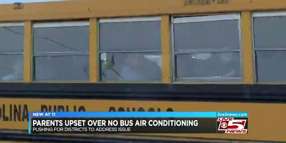 VIDEO: Dorchester District 2 parent concerned about school buses without A/C