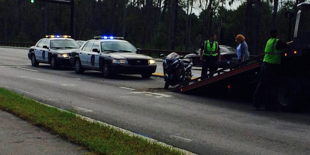 One injured after accident involving motorcycle on Bees Ferry Rd.