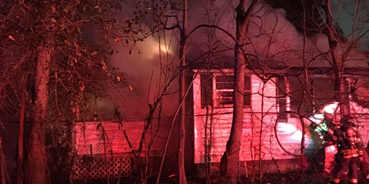 Emergency crews working fire at North Charleston home