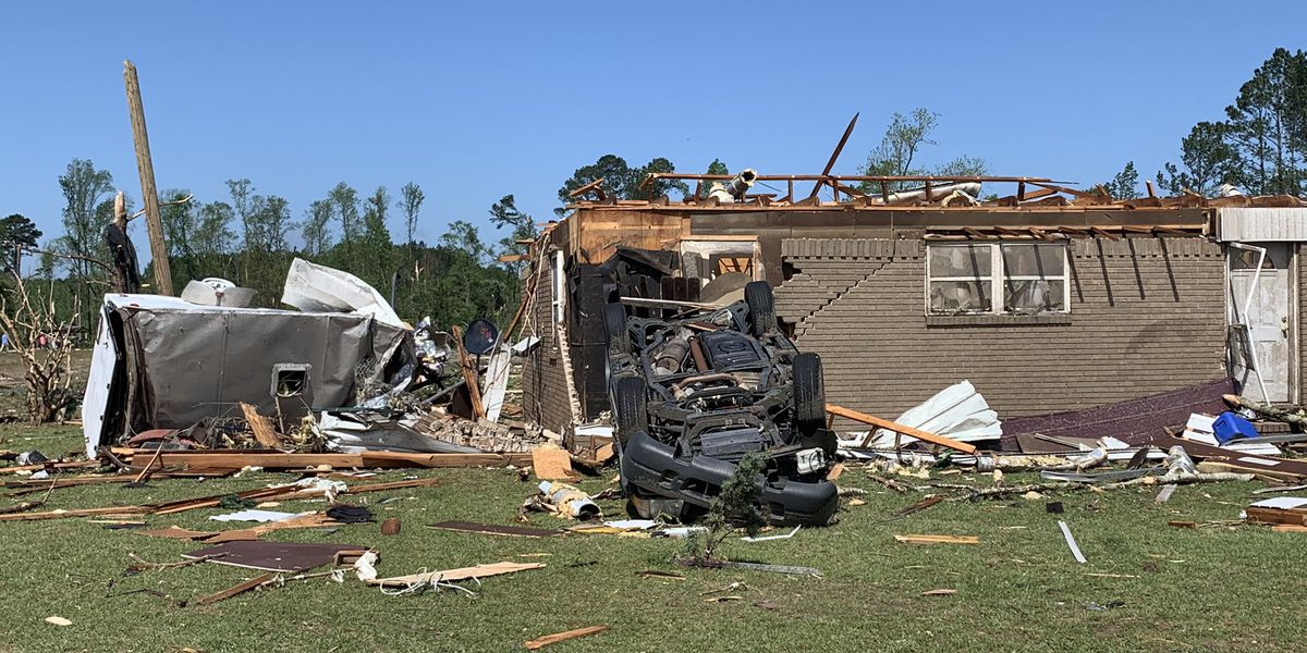 At least 20 tornadoes touched down in South Carolina during Monday's storms