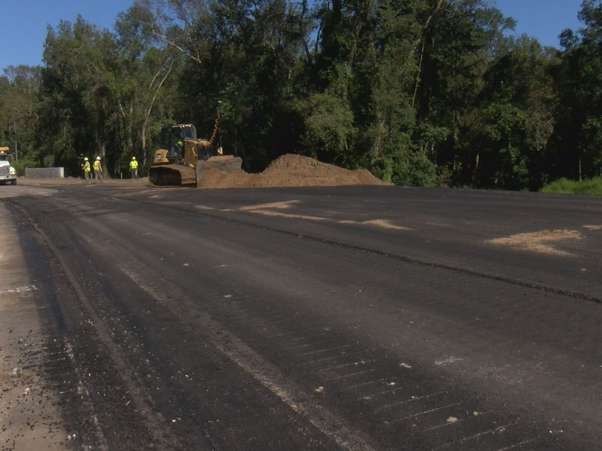 Crews working on new intersection of Hwy 178 and Hwy 78 in Dorchester County