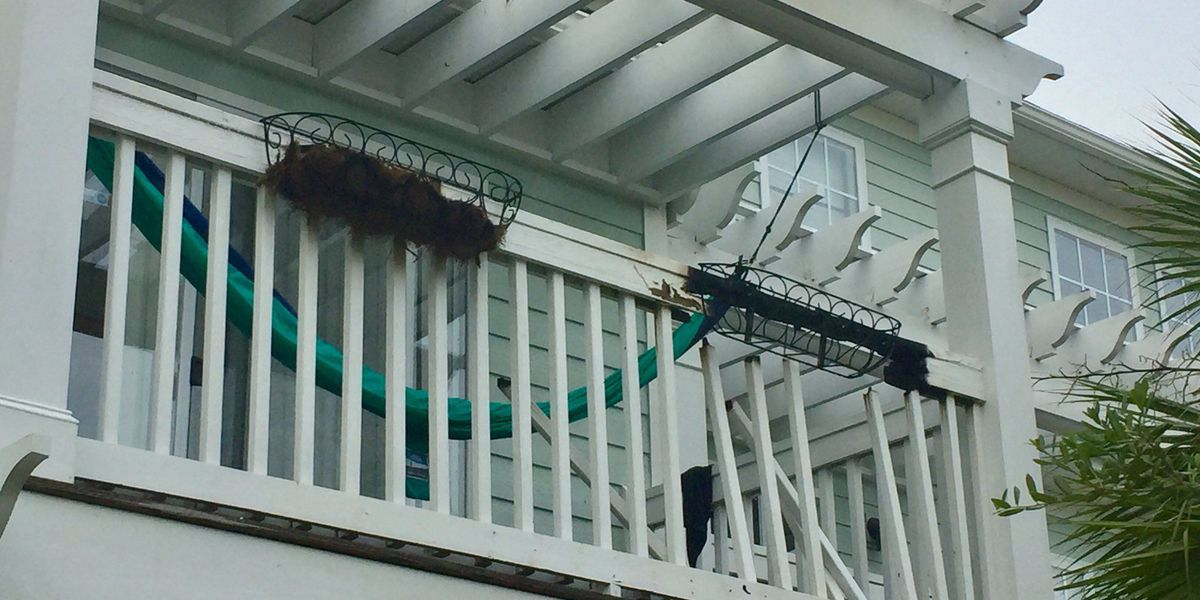 Johns Island porch fire caused by cigarette butts