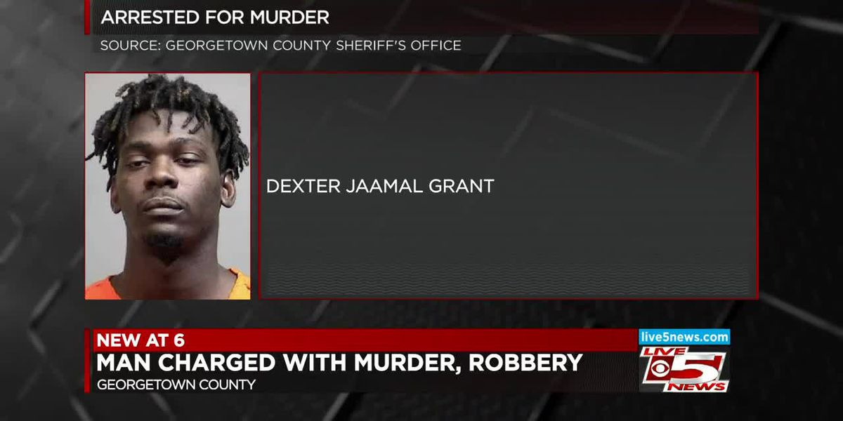 VIDEO: Andrews man arrested on murder, robbery charges