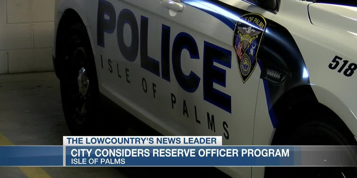 VIDEO: Isle of Palms considers reserve officer program for police department