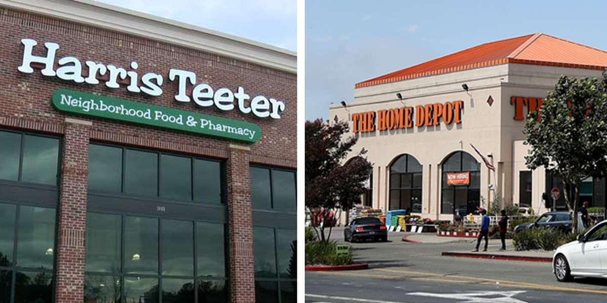 Mandatory mask policy at Harris Teeter, Home Depot goes into effect nationwide