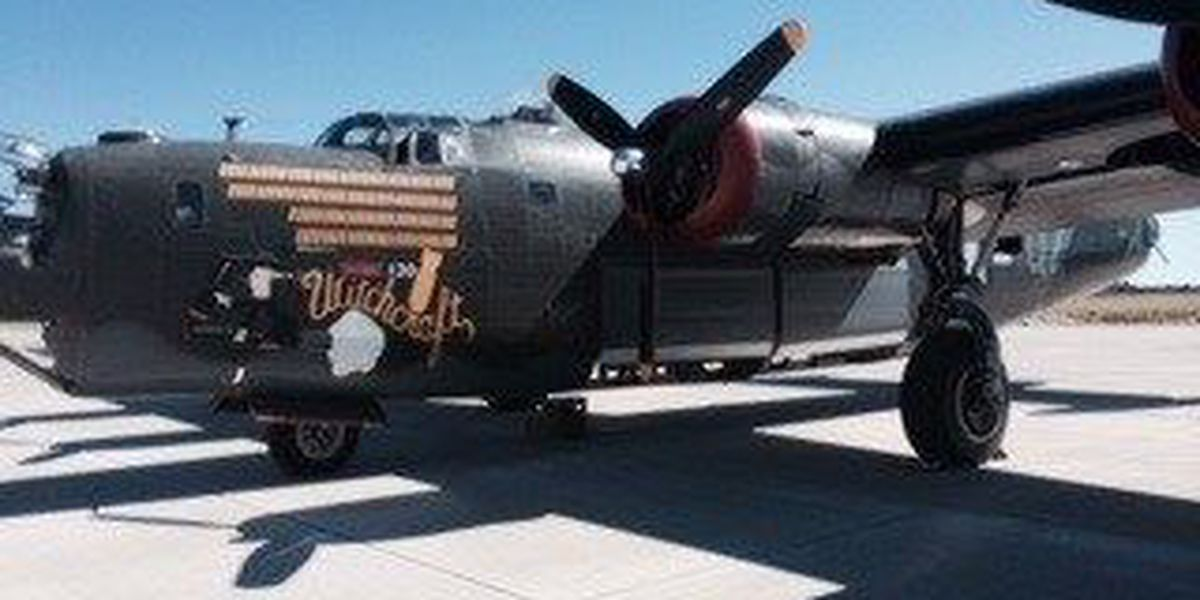 WWII hero planes land in the Lowcountry