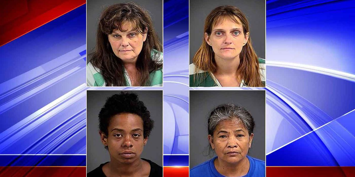 Four women arrested during North Charleston prostitution sting