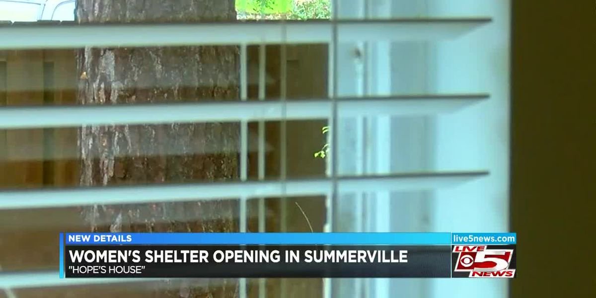 New homeless shelter for women, 'Hope's House,' set to open in Summerville