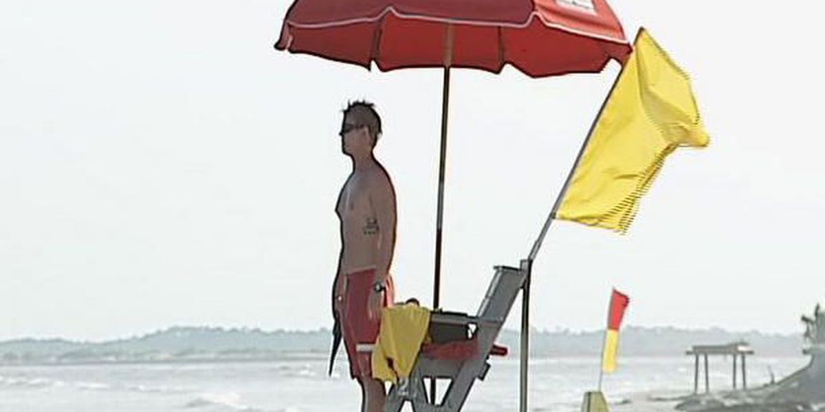 Lifeguards competing on IOP, in Mt. Pleasant