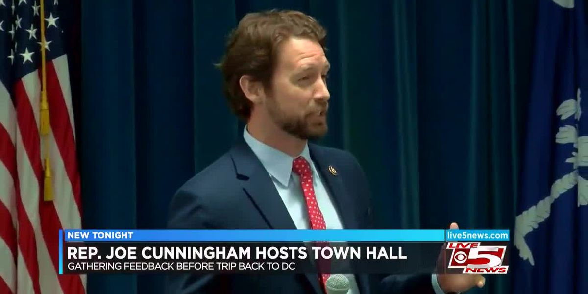 VIDEO: Rep. Joe Cunningham holds town hall meeting in the Lowcountry