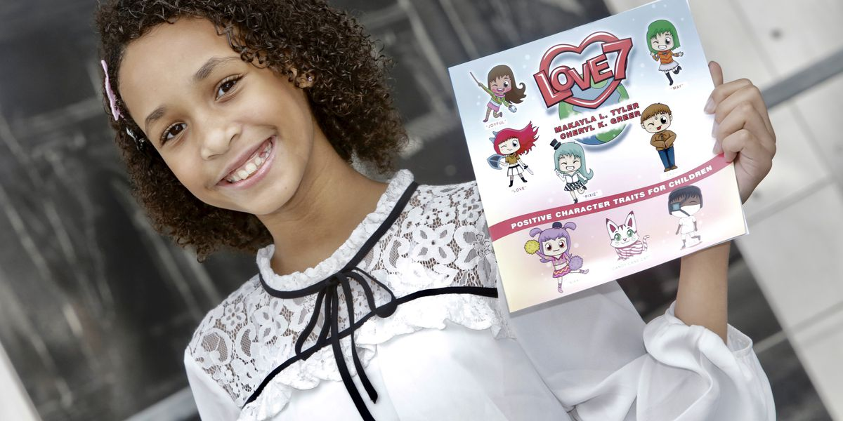 "5th Grader pens new book ""Love 7"" to combat bullying and promote kindness in schools"