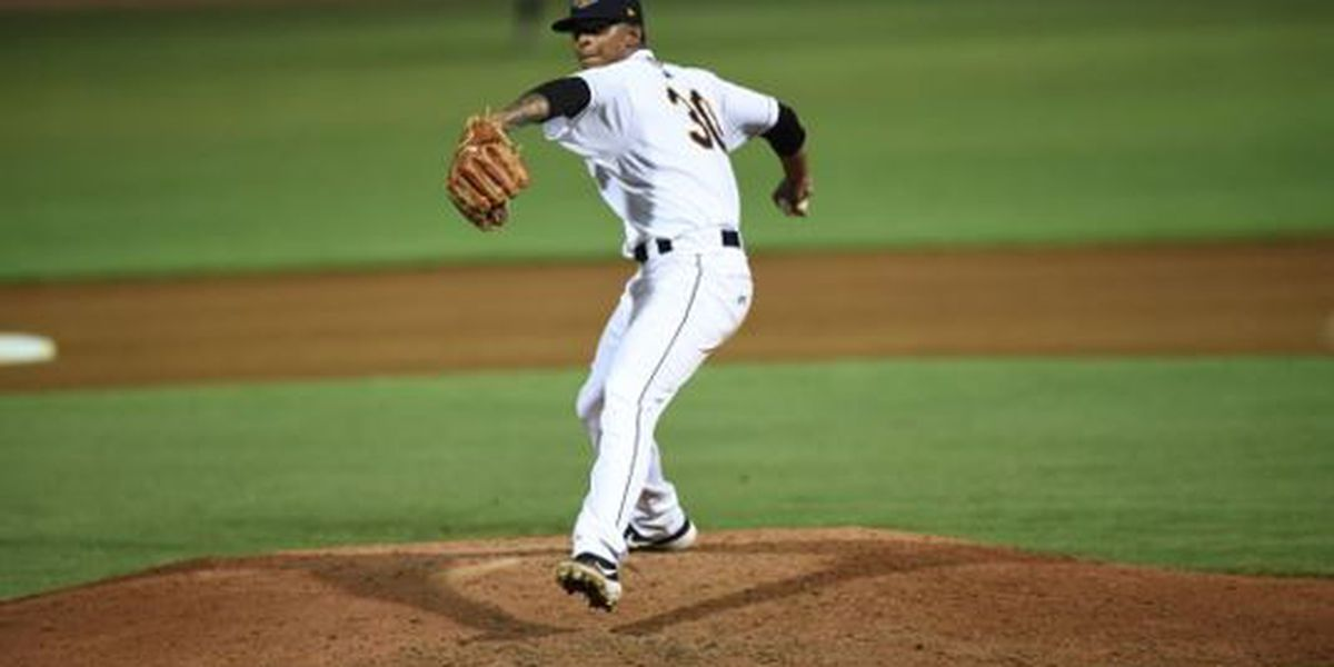 RiverDogs' Medina Named SAL Pitcher of the Week