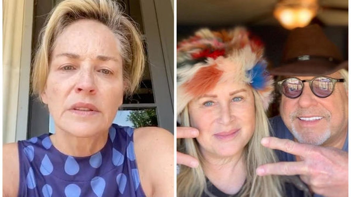 "Sharon Stone shares sister's battle with COVID-19, blaming ""non ..."