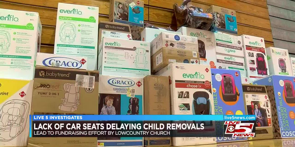 Lack of car seats has caused delays in some DSS child removals