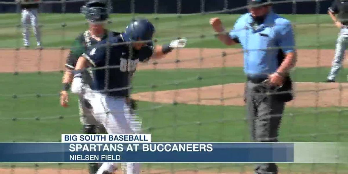 VIDEO: Bucs sweep doubleheader to take series against USC Upstate