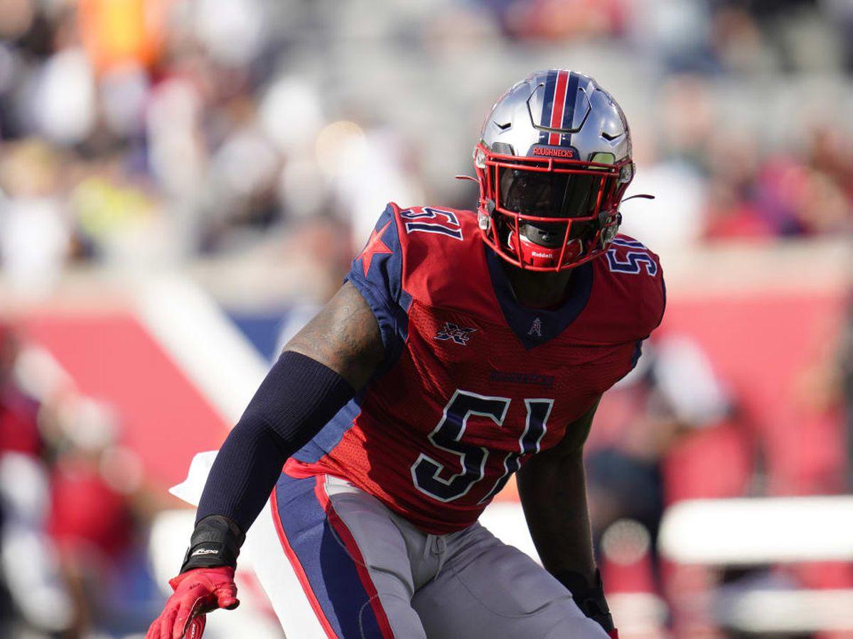 St. John's alum Edmond Robinson signs with Atlanta Falcons