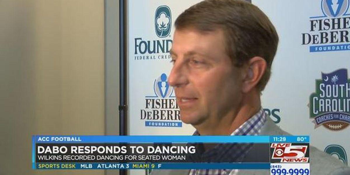 Dabo Swinney responds to Christian Wilkins dance video