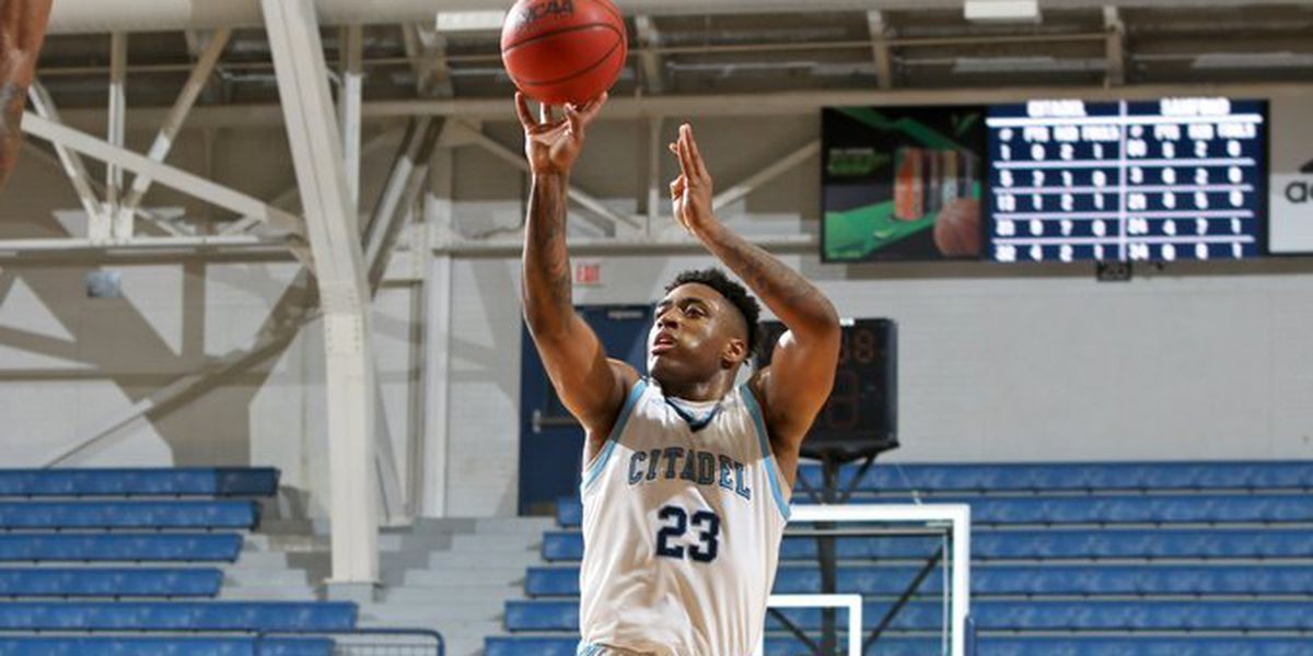 Harris Records Double-Double in The Citadel's Loss to Samford