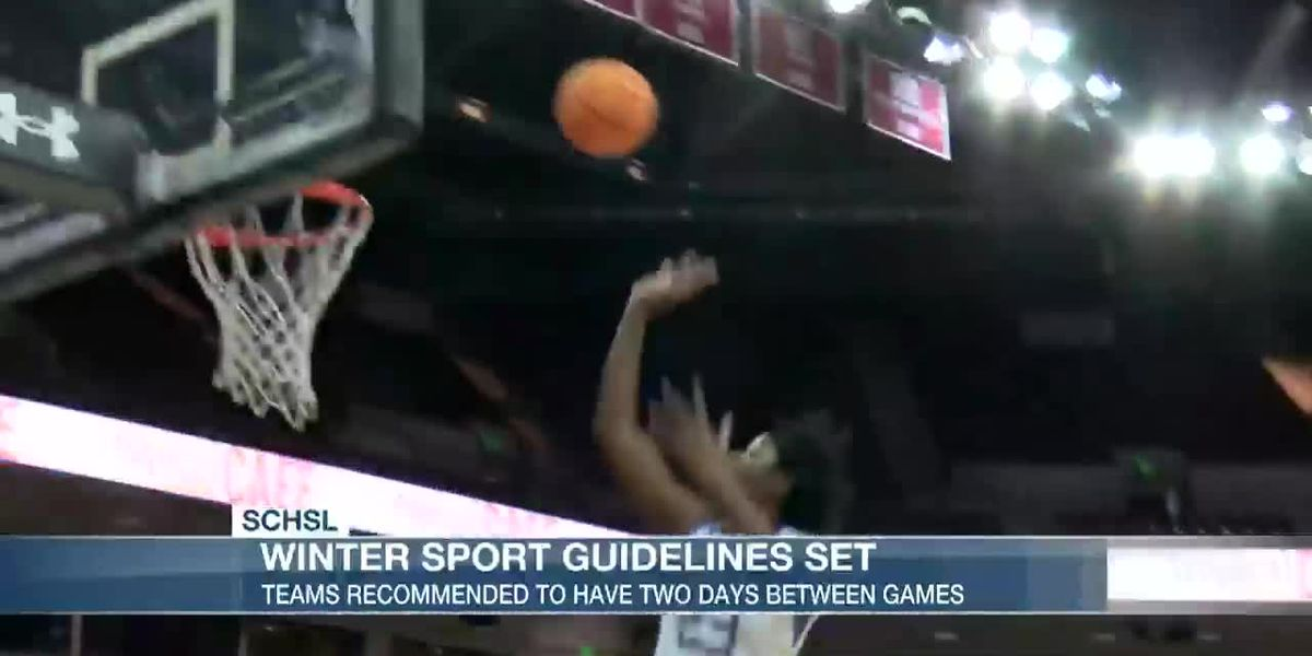 VIDEO: S.C. High School League sets high school winter sport guidelines
