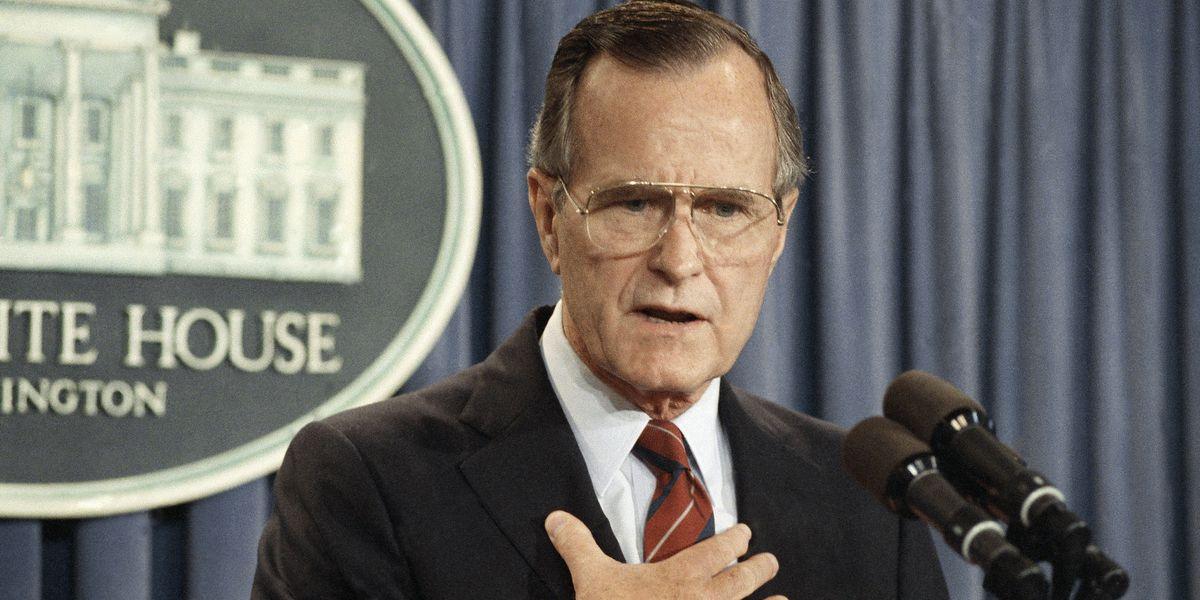 TAKE A STAND: President George H.W. Bush