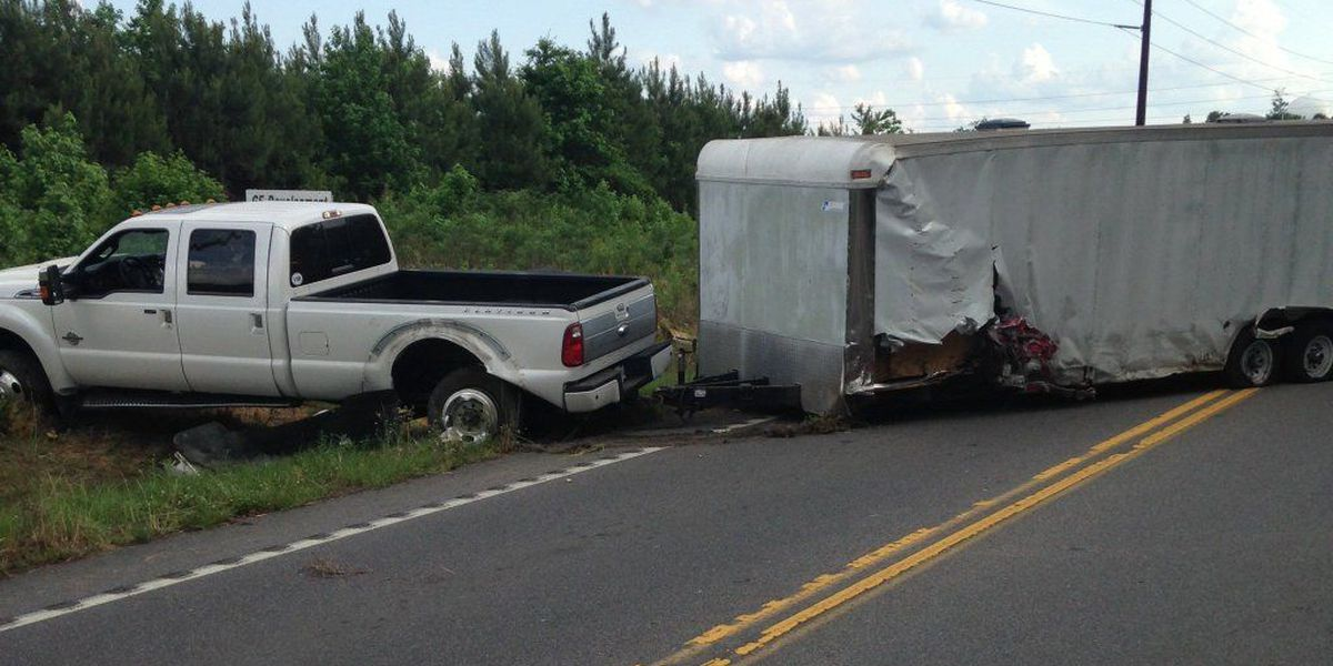 Jedburg Road re-opened following Summerville accident
