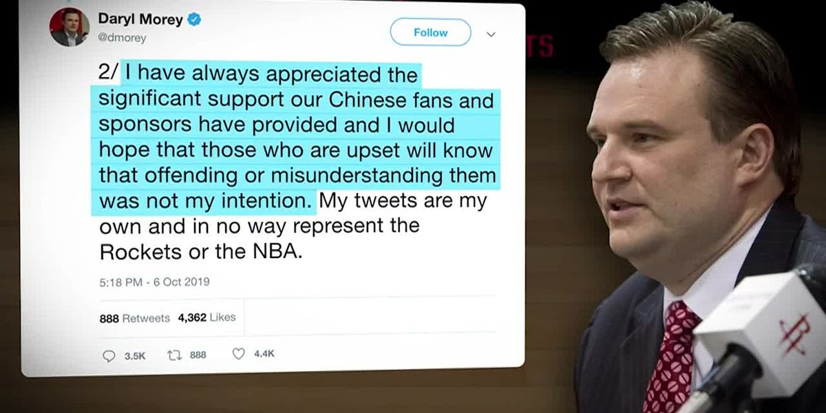 China suspends ties to Houston Rockets over manager's pro-Hong Kong tweet