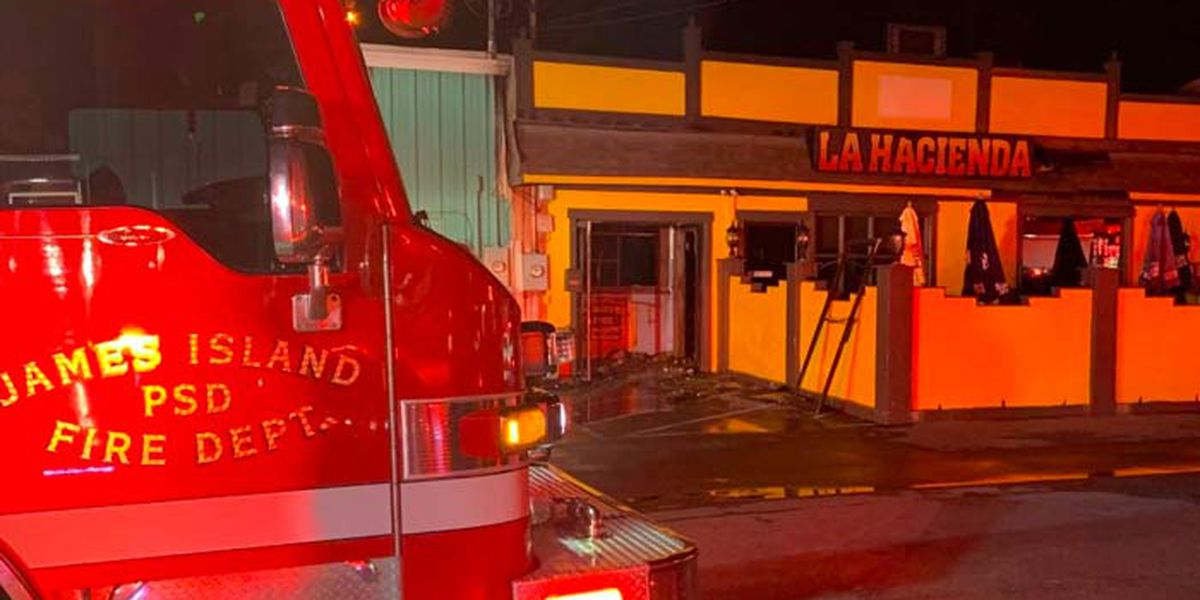 Investigators working to determine cause of fire at James Island restaurant