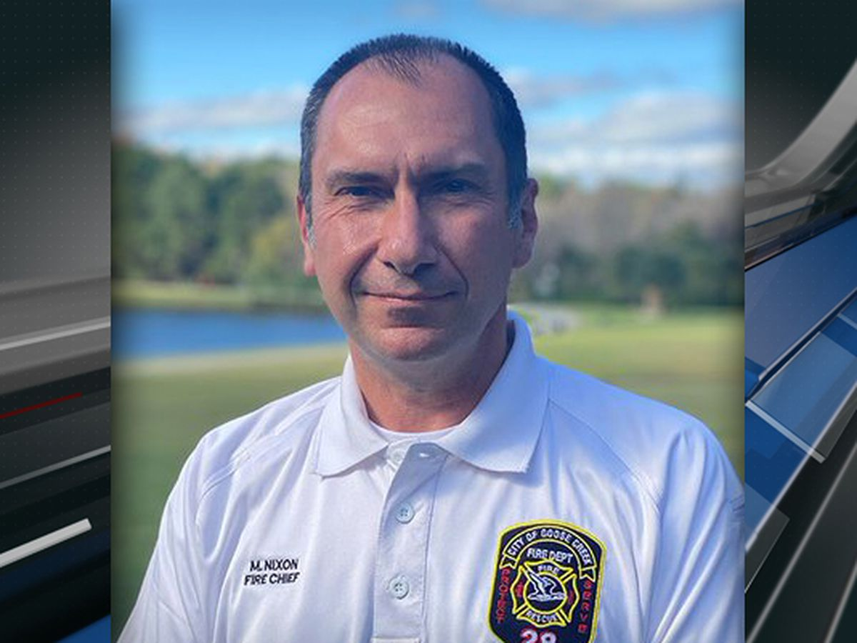 City of Goose Creek announces Mike Nixon as new fire chief